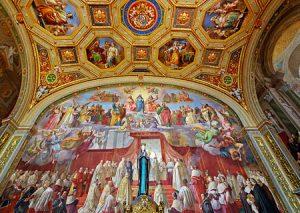 Vatican museum - Raphael Rooms