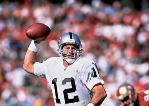 Rich Gannon #12 Oakland Raiders