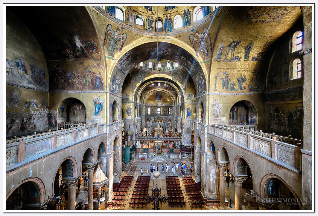 St Mark's Basilica in Venice Italy is one of the can't miss stops during any visit there.