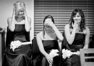 Bridesmaids candid moment - San Ramon