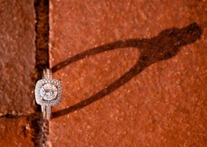 Macro photography - engagement ring