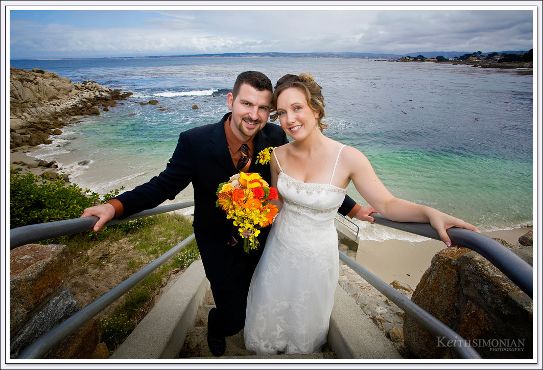 Lovers Point in Pacific Grove offers amazing views of the Pacific Ocean while you get married just above the sea.