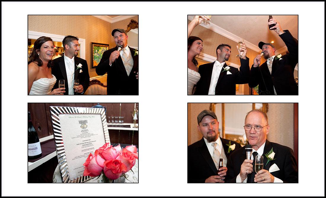 Wedding Reception Speeches - Gatherings - Pacific Grove, CA
