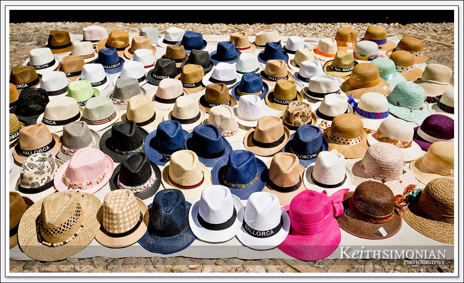 A hat in Palma de Mallorca certainly wasn't a bad idea during the heat of this summer day.