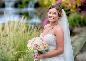 Bridal portrait at Wedgewood in Brentwood, CA