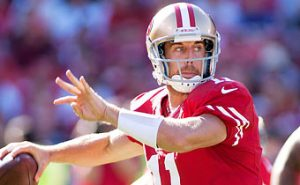 Now retired after 16 years in the NFL quarterback Alex Smith